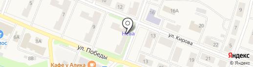Следственный отдел по г. Кировск на карте Кировска