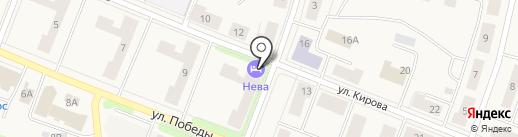 NEVA на карте Кировска