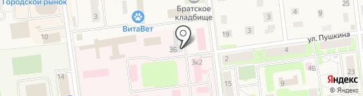 Бюро ритуальных услуг на карте Кировска
