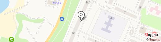 Магазин игрушек на Набережной (Кировский район) на карте Кировска
