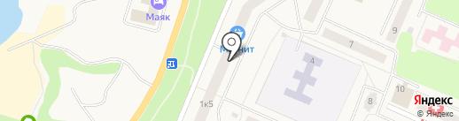 Валентина на карте Кировска