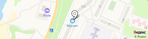 Магазин детской одежды на Набережной на карте Кировска