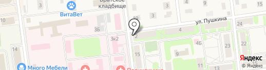 Киберплат на карте Кировска