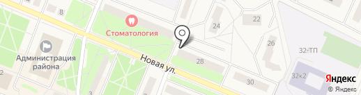 Нотариус Макарова Т.В. на карте Кировска
