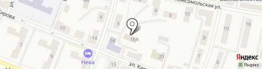 Вад на карте Кировска