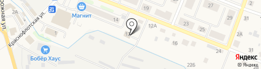 Шиномонтажная мастерская на ул. Победы на карте Кировска