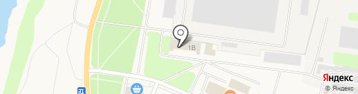 Магазин сантехнического оборудования на карте Кировска