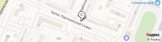 Киоск фастфудной продукции на карте Кировска
