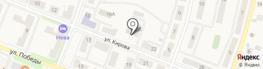 Отдел судебных приставов по Кировскому муниципальному району на карте Кировска
