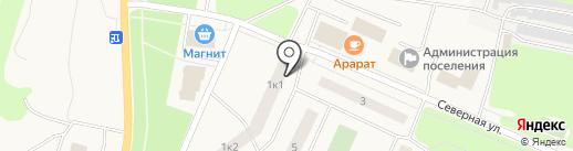 Мгинская детская художественная школа, МБУ на карте Кировска