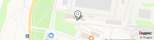 Магазин детского трикотажа на карте Кировска