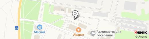 Киоск по ремонту обуви на карте Кировска