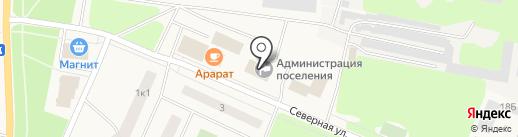 Континент на карте Кировска