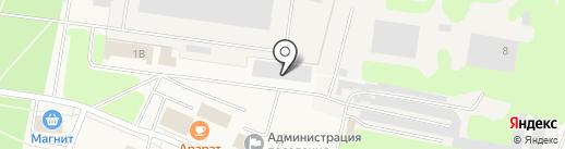 Метрика на карте Кировска