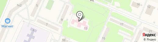 Территориальный фонд обязательного медицинского страхования Ленинградской области на карте Кировска