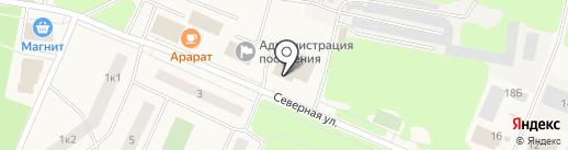 Отдел вневедомственной охраны на карте Кировска