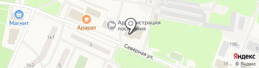 Отдел вневедомственной охраны Управления МВД РФ г. Кировска на карте Кировска