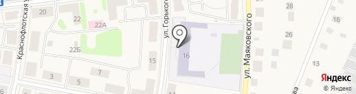 Гимназия им. Султана Баймагамбетова на карте Кировска