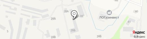Шиномонтажная мастерская на ул. Победы (Кировский район) на карте Кировска