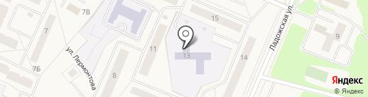 Детский сад №37 на карте Кировска