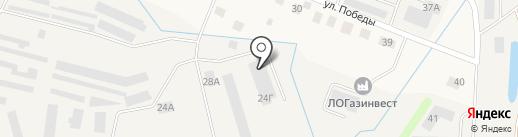 Петровская верфь на карте Кировска