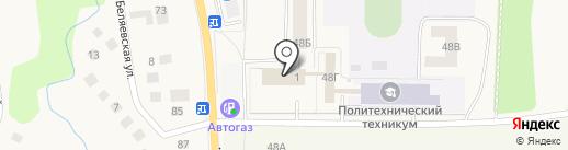 Кировский центр занятости населения на карте Кировска