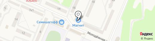 Лидер на карте Кировска
