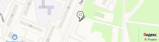 Автостоянка на карте Кировска