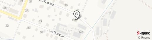 Кировское районное лесничество на карте Кировска