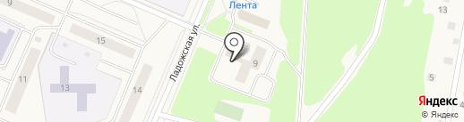 Бейзил на карте Кировска