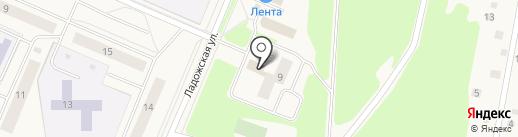 Труд на карте Кировска