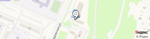 Магазин плитки на карте Кировска