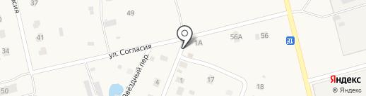 Продовольственный магазин на карте Новой Мельницы