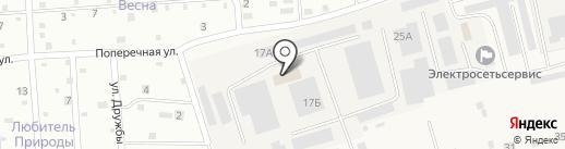 Служба помощи водителям на карте Новой Мельницы