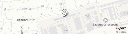 Нов-Агро на карте Новой Мельницы
