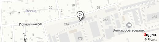 Агропромэнерго на карте Новой Мельницы