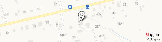 Новгородский лесхоз на карте Новой Мельницы