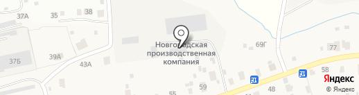 Автокомплекс на карте Новой Мельницы