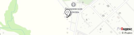 Март на карте Новой Мельницы