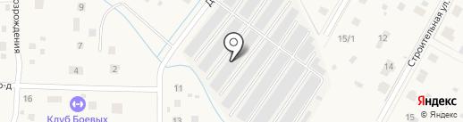 Автосервис на Дорожной на карте Григорово