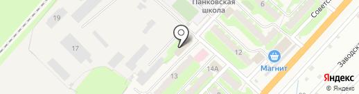 Пятёрочка на карте Панковки