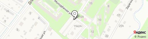 Автостоянка на карте Григорово