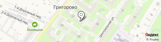Ноктюрн на карте Григорово