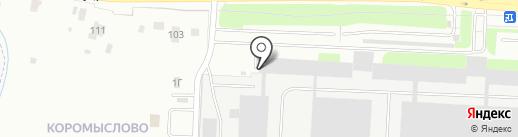 ДС Контролз, ЗАО на карте Великого Новгорода