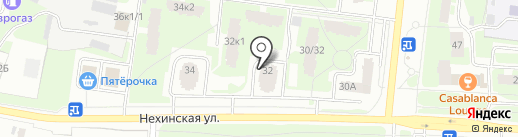 Just food на карте Великого Новгорода