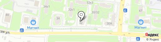 Важная персона на карте Великого Новгорода