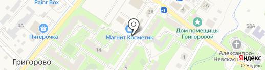 НовМит на карте Григорово