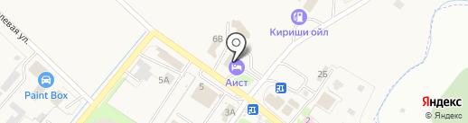 Гостевой дом Аист на карте Григорово