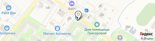 Новгородхлеб на карте Григорово