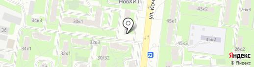 Спарк-Авто на карте Великого Новгорода
